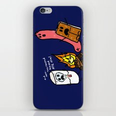 Campfire Tales iPhone & iPod Skin