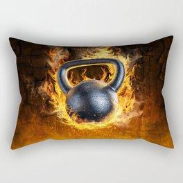 Too Hot to Handle Rectangular Pillow