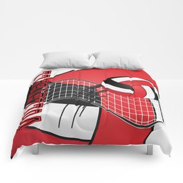Volleyball Game  - Red Comforters