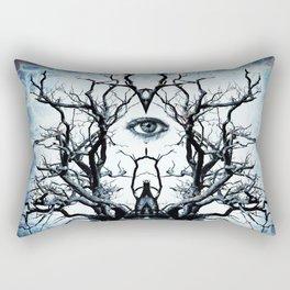 Tree of Life Archetype Religious Symmetry Rectangular Pillow