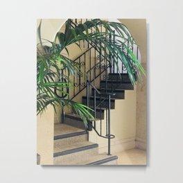 Secret Stair Steps to a Romantic Hideaway Metal Print