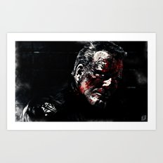 Marv Sin City Art Print