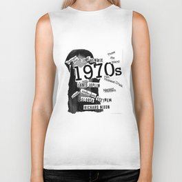 Misanthrope 70's Shirt Biker Tank