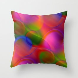 time for abstraction -10- Throw Pillow