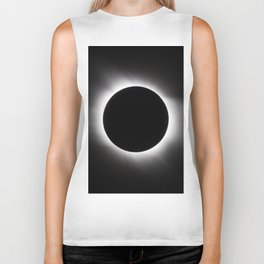 Solar Eclipse Biker Tank
