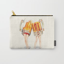 Cheers! Beer Pin-Ups Carry-All Pouch