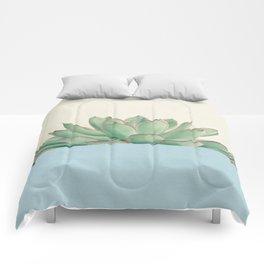 Succulent Dip III Comforters