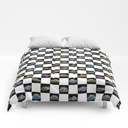 Crazy Car Art 0158 Comforters