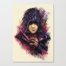 The Face Canvas Print