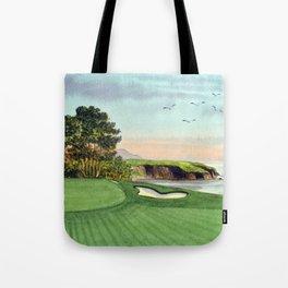 Pebble Beach Golf Course 5th Hole Tote Bag