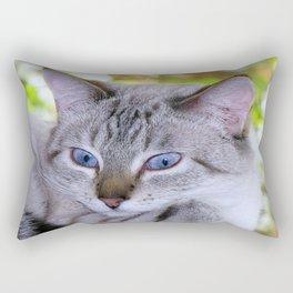 Ready for my close up Rectangular Pillow