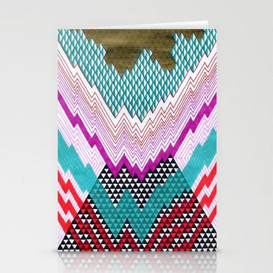 Isometric Harlequin #5 Stationery Cards