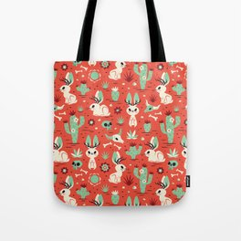 Cryptid Cuties: The Jackalope Tote Bag