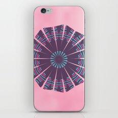 Pinkish mandala iPhone & iPod Skin