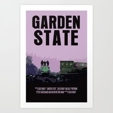 Garden State Movie Poster Art Print