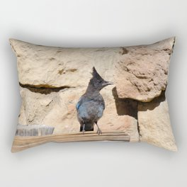 Resident Jay - North_Rim Grand_Canyon Lodge Rectangular Pillow