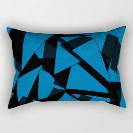 3D Broken Glass Rectangular Pillow