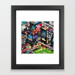 GAMECITY Framed Art Print