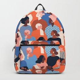 Diverse women Backpack