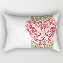 Resonate Bridge | Ace of Hearts Rectangular Pillow
