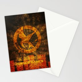 My tribute to Panem Stationery Cards