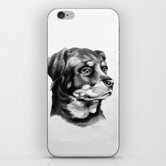 Rottweiler Devotion iPhone & iPod Skin