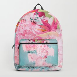 Woman in flowers II Backpack