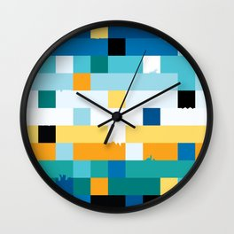 These little ruptures Wall Clock