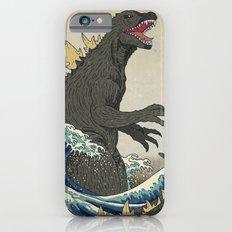 The Great Godzilla off Kanagawa iPhone 6 Slim Case