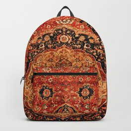 Seley 16th Century Antique Persian Carpet Print Backpack