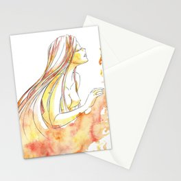 Goddess of Fire Stationery Cards