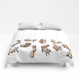 Lots of Sammy Squirrels Comforters