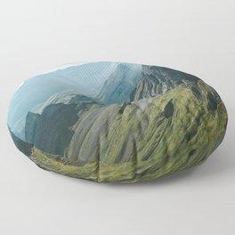 Wild Mountain - Landscape Photography Floor Pillow