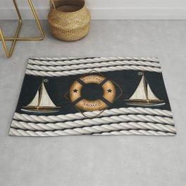 Nautical Ropes Rug