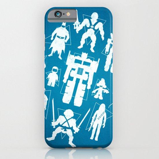 Plastic Heroes iPhone & iPod Case