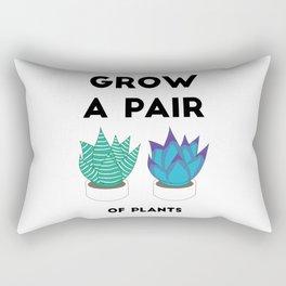 Grow A Pair Rectangular Pillow