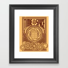 Time and Space Framed Art Print