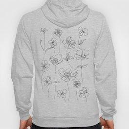 Botanical illustration drawing - Botanicals White Hoody