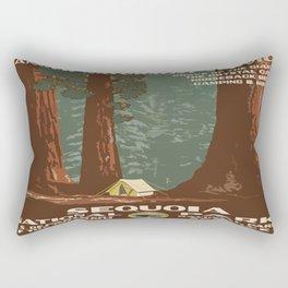 Vintage poster - Sequoia National ParkX Rectangular Pillow