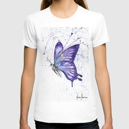Lavender Butterfly T-shirt