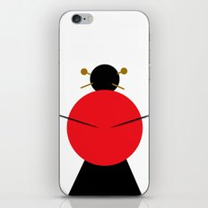 Japanese girl iPhone & iPod Skin