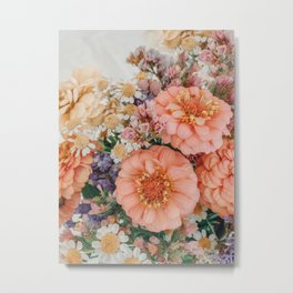 Light and Muse | Floral Bouquet no. 1 Metal Print