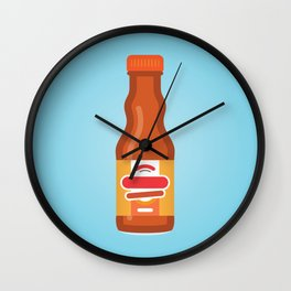 Frank's Buffalo Wing Sauce Wall Clock