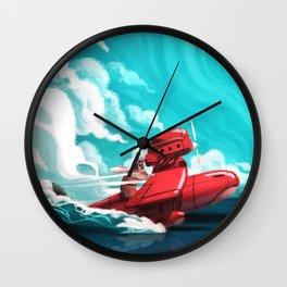 Porco Rosso Wall Clock