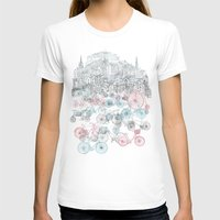 airplanes T-shirts featuring Old Town Bikes by David Fleck