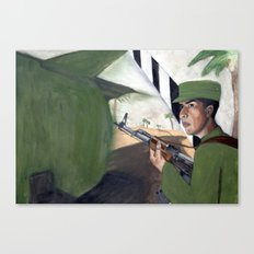 Cuban Standoff Canvas Print