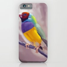 Gouldian Finch Slim Case iPhone 6s