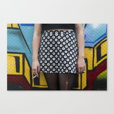 Skirt and cig Canvas Print