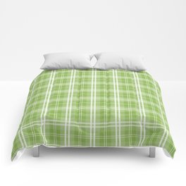 Spring 2017 Designer Colors Greenery Tartan Plaid Comforters