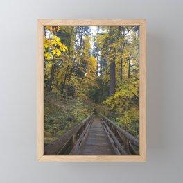Crossing the Bridge Framed Mini Art Print